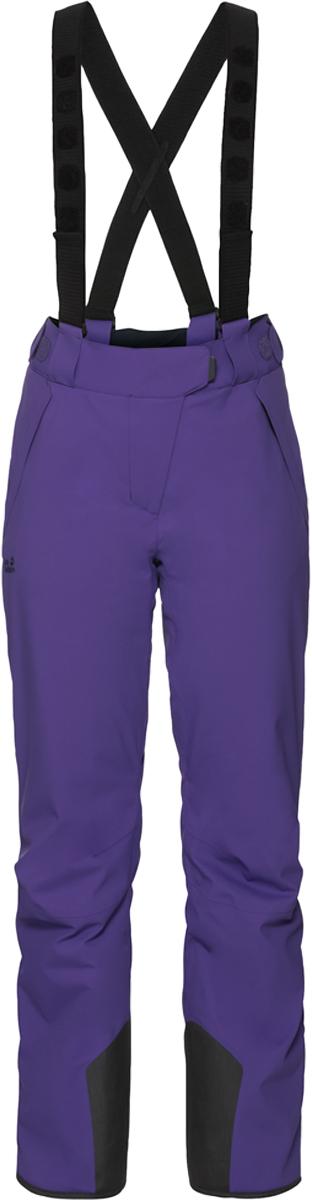 Брюки утепленные женские Jack Wolfskin Exolight Pants, цвет: фиолетовый. 1109241-1642. Размер 38 (48) брюки утепленные jack wolfskin jack wolfskin ja021emwhy45