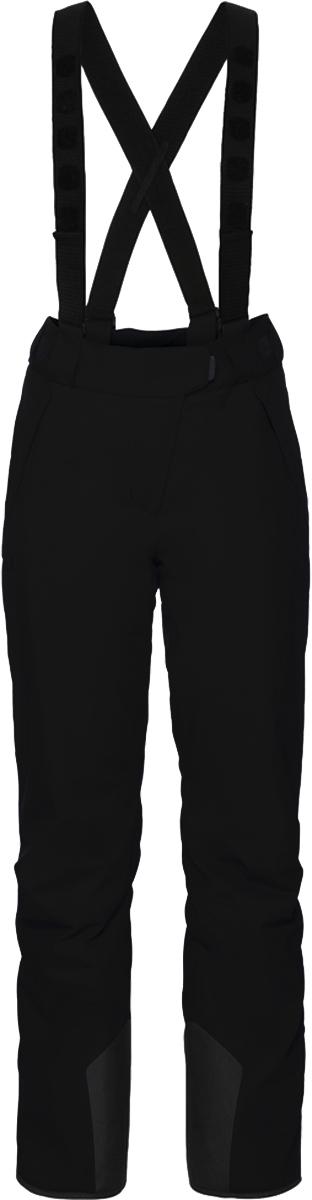 Брюки утепленные женские Jack Wolfskin Exolight Pants, цвет: черный. 1109241-6000. Размер 36 (44/46)1109241-6000Водонепроницаемые, дышащие, теплые и прочные горнолыжные брюки, которые к тому же, отлично тянутся. Только представьте, сегодня прекрасный зимний день, и вы отправляетесь на горнолыжные склоны. EXOLIGHT PANTS (ЭКЗОЛАЙТ ПЭНТС) - просто идеальный выбор. Они были разработаны для удовлетворения особых требований лыжного спорта. Они водонепроницаемые, дышащие, теплые и прочные.Особый наружный материал TEXAPORE SNOW (ТЕКСАПОР СНОУ) защищает вас от мокрого снега и холодных горных ветров. Данная версия нашего проверенного защитного материала была специально разработана для зимней спортивной одежды. Эластичность ткани обеспечивает полную свободу движения. В EXOLIGHT PANTS (ЭКЗОЛАЙТ ПЭНТС) используется износостойкий синтетический утеплитель MICROGUARD (МАЙКРОГАРД). Он абсолютно невосприимчив к влаге и эффективно сохраняет тепло даже при температуре значительно ниже нуля.Все детали также ориентированы на горнолыжный спорт. А еще имеется специальный карман для вашего горнолыжного абонемента, съемные ремни и вшитые гамаши, предотвращающие попадание снега снизу.