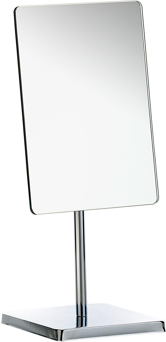 Зеркало косметическое для ванны Axentia, цвет: серебристый, 16,5 х 23 см126807Косметическое зеркало для ванны Axentia , изготовленное из хромированной стали и стекла, идеально подходит для нанесения макияжа и совершения различных косметических процедур. Изделие прямоугольной формы с регулируемым углом наклона позволит вам установить его так, как вам удобно.Стильный дизайн зеркала делает его отличным подарком родным и близким, оно будет прекрасно смотреться в любом интерьере. Размер 16,5 х 23 см.
