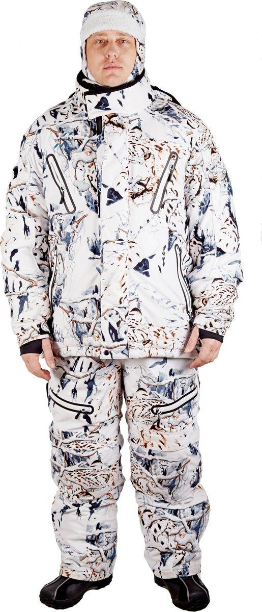 Костюм универсальный мужской Canadian Camper Tundra: куртка, полукомбинезон, цвет: белый камуфляж. Tundra_Snow-Leopard. Размер 3XL (54/56)Tundra_Snow-LeopardКостюм универсальный мужской Canadian Camper Tundra выполнен из полиэстера. Вентиляционные молнии в области подмышек. Регулируемый ворот, пояс и манжеты рукавов. Анатомические рукава. Теплые внутренние карманы. Внутренняя юбка для защиты от снега. Съемная утепленная стеганая подкладка.Двойной клапан основной застежки. Двухзамковая застежка-молния YKK с клапаном. Пропаянные непромокаемые карманы на молнии. Эластичные удлиненные манжеты с прорезью под большой палец. Светоотражающие канты безопасности.Полукомбинезон:Удобные, регулируемые по длине лямки на замках. Эластичные трикотажные вставки на боках. Двухзамковая застежка-молния YKK с клапаном. Материал повышенной прочности в области колен и седалища. Застежка-молния снизу штанов с клапаном.