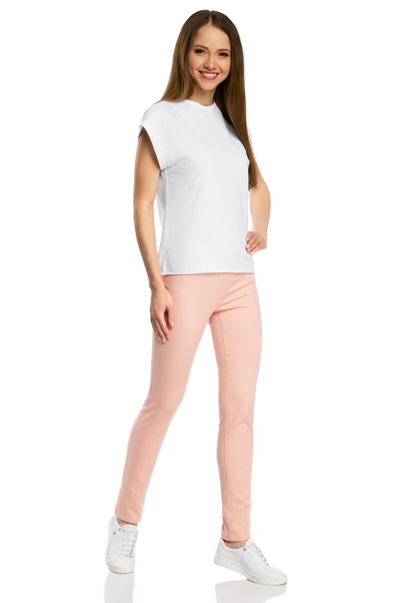 Футболка женская oodji Ultra, цвет: белый, 3 шт. 14707001T3/46154/1000N. Размер XL (50) футболки