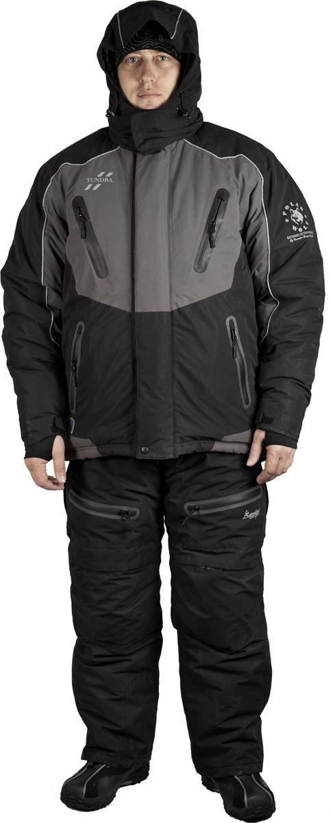 Костюм универсальный мужской Canadian Camper Tundra: куртка, полукомбинезон, цвет: черный, серый. Tundra_Black/Grey. Размер L (48/50)Tundra_Black/GreyМембрана DE-РRO-TEXВодонепроницаемость: 10 000 ммДышащая способность материала: 10 000 г./м.2/24 часОсновная ткань: MICRO FIBER TRICOT 100% polyester.Подкладка: 100% полиэстер Утеплитель: Thermo Guard (100% полиэстр)Комфортная температура до -40Куртка:Все швы и логотипы проклееныВентиляционные молнии в области подмышекРегулируемый ворот, пояс и манжеты рукавовАнатомические рукава Теплые внутренние карманы Внутренняя юбка для защиты от снегаСъемная утепленная стеганая подкладка Двойной клапан основной застежкиДвухзамковая застежка-молния YKK с клапаном Пропаянные непромокаемые карманы на молнии Эластичные удлиненные манжеты с прорезью под большой палецСветоотражающие канты безопасностиПолукомбинезон:Удобные, регулируемые по длине лямки на замкахЭластичные трикотажные вставки на боках Дополнительные полиуретановые съемные мягкие вставки на коленях и попе Двухзамковая застежка-молния YKK с клапаном Материал повышенной прочности в области колен и седалищаЗастежка-молния снизу штанов с клапаном Пропаянные непромокаемые карманы в области коленКолени – объемный крой.