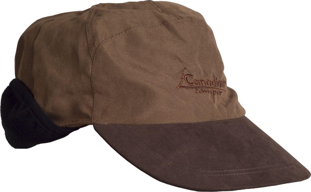 Кепка мужская Canadian Camper Mirro, цвет: коричневый. Mirro_Brown. Размер 62 canadian camper