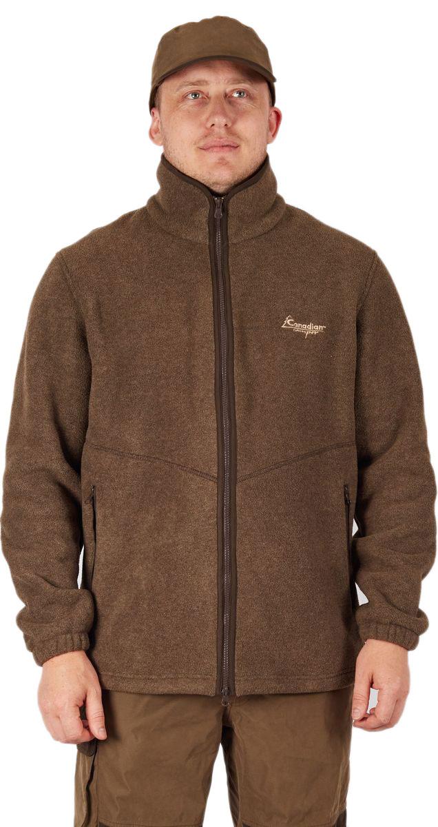 Куртка мужская Canadian Camper Forkan, цвет: коричневый. Forkan_Brown. Размер S (46)Forkan_BrownТеплая куртка Canadian Camper Forkan для охоты и любой активности в холодный период. Идеальный средний слой зимой или верхняя одежда в сухую погоду осенью. Комбинация оттенков идеально сочетается с охотничьими костюмами. - Боковые и нагрудные карманы на молнии- Двухсторонний Поларфлис плотностью 420 гр/м, - Усиленные плечи - Большие вместительные карманы на молнии - Утяжка по нижней кромке.