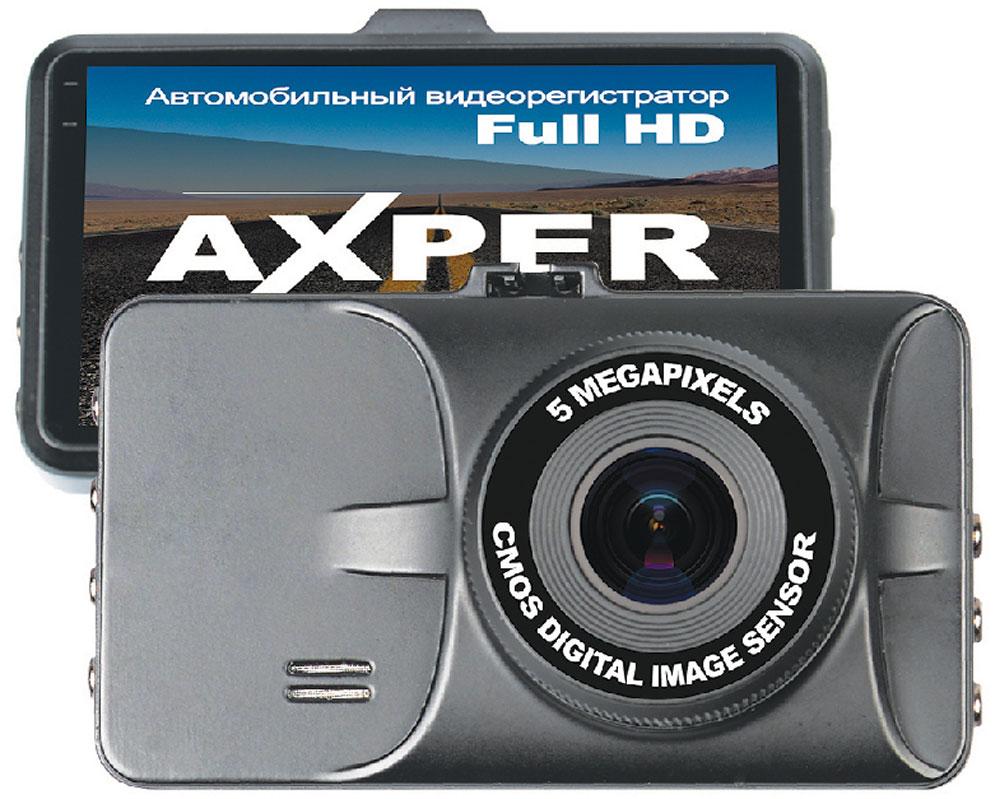 Axper Ring Full HD видеорегистраторAXRingAxper Ring - регистратор созданный для тех, кому нужно безотказное средство фиксации в автомобиле. Стильный дизайн, который идеально вписывается в интерьер автомобиля любого класса. Качество записи самого высокого уровня в разрешении 1920х1080 с частотой 30 кадров/сек. Использование данного устройства не доставит водителю проблем, потому что управление сделано специально для максимального удобства пользования.Слот для карты памяти позволяет вести запись большого количества видеороликов при использовании карты памяти с объёмом 32Gb. Два крепления идущих в комплекте дают возможность закрепить видеорегистратор на любой поверхности. Так же это даёт возможность разместить автомобильный регистратор в двух автомобилях.Разъем miniHDMI позволит подключить устройство к телевизору или монитору ПК для просмотра видео.Процессор: NTK96650Сенсор (матрица): CMOS, AR0330