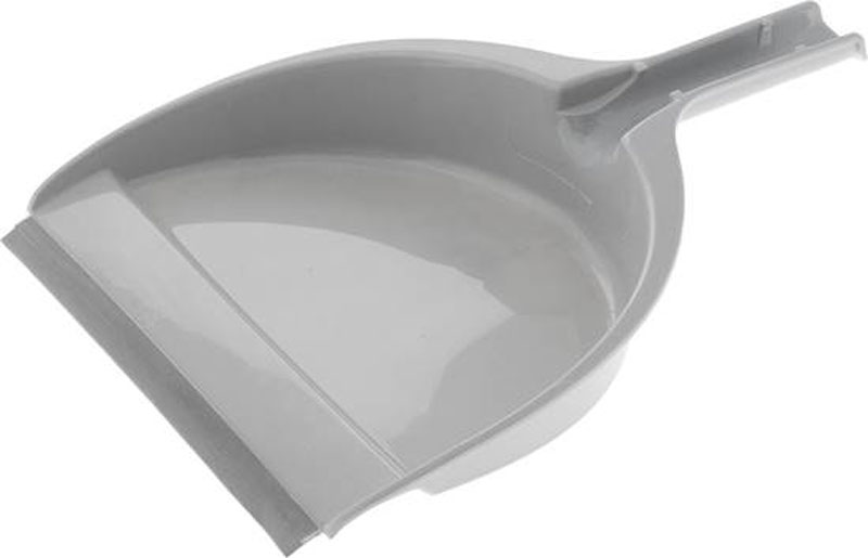 Совок Big, со щеткой, цвет: серый11702-A_желтый, серыйСовок Big будет прекрасным дополнением к набору предметов домашнего обихода. Комплект состоит из совка и щетки. Практичный и удобный набор отлично подойдет для уборки крошек и мелкого мусора со стола и кухонных поверхностей. Щетка с искусственной щетиной дополнена отверстием на ручке для подвешивания. Резиновая вставка на совке упростит сбор мусора.