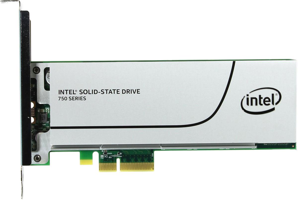 Intel 750 Series 400GB SSD-накопитель (SSDPEDMW400G4X1)326264Оцените будущую производительность подсистем хранения данных клиентских настольных ПК и рабочих станций с твердотельными накопителем Intel серии 750. Твердотельный накопители Intel 750 обеспечивают бескомпромиссную производительность благодаря использованию интерфейса NVM Express на четырех линиях шины PCIe 3.0.Поддержка форм-факторов карт расширения и 2.5-дюймовых дисков твердотельным накопителем Intel 750 упрощает миграцию с SATA на PCIe 3.0 без ограничений производительности, связанных с энергопотреблением или тепловыделением. Теперь твердотельные накопители смогут обеспечить наивысший уровень производительности в системах разнообразных форм-факторов и конфигураций.Как собрать игровой компьютер. Статья OZON ГидКакой SSD выбрать. Статья OZON Гид