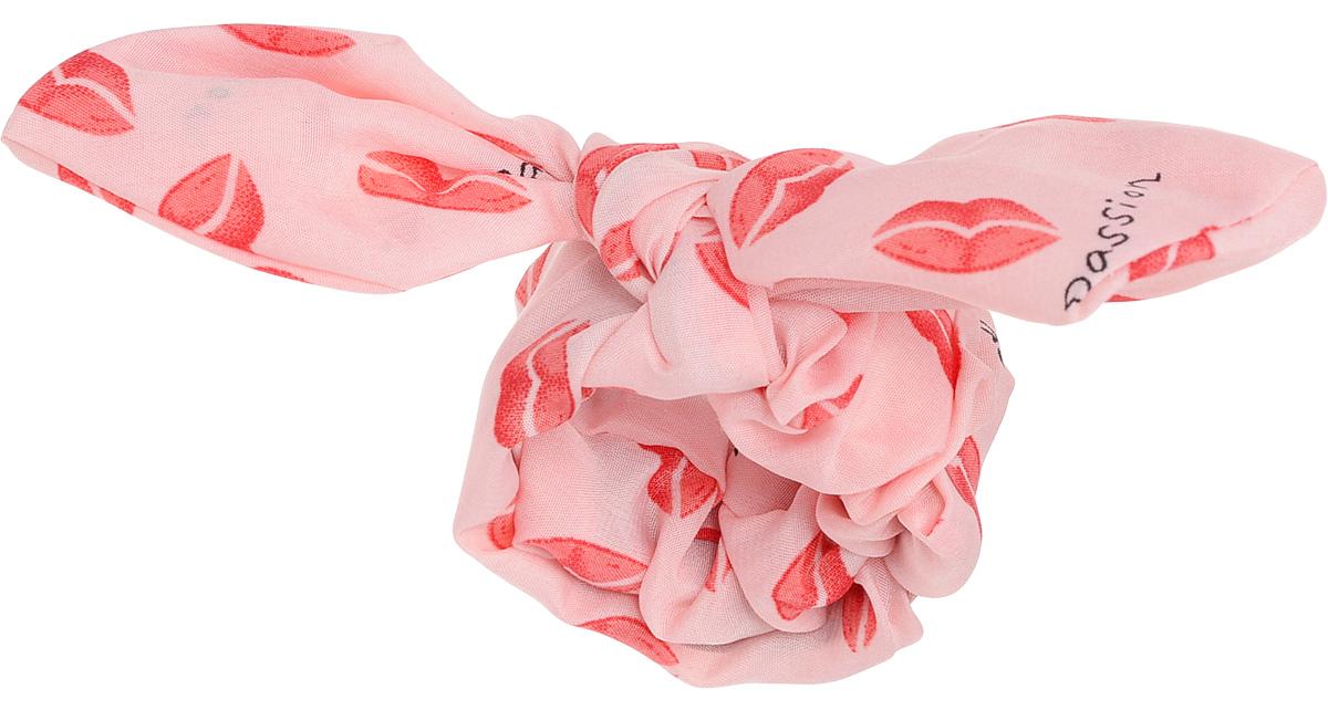 Заколка Хеагами Поцелуй, цвет: розовый, красный
