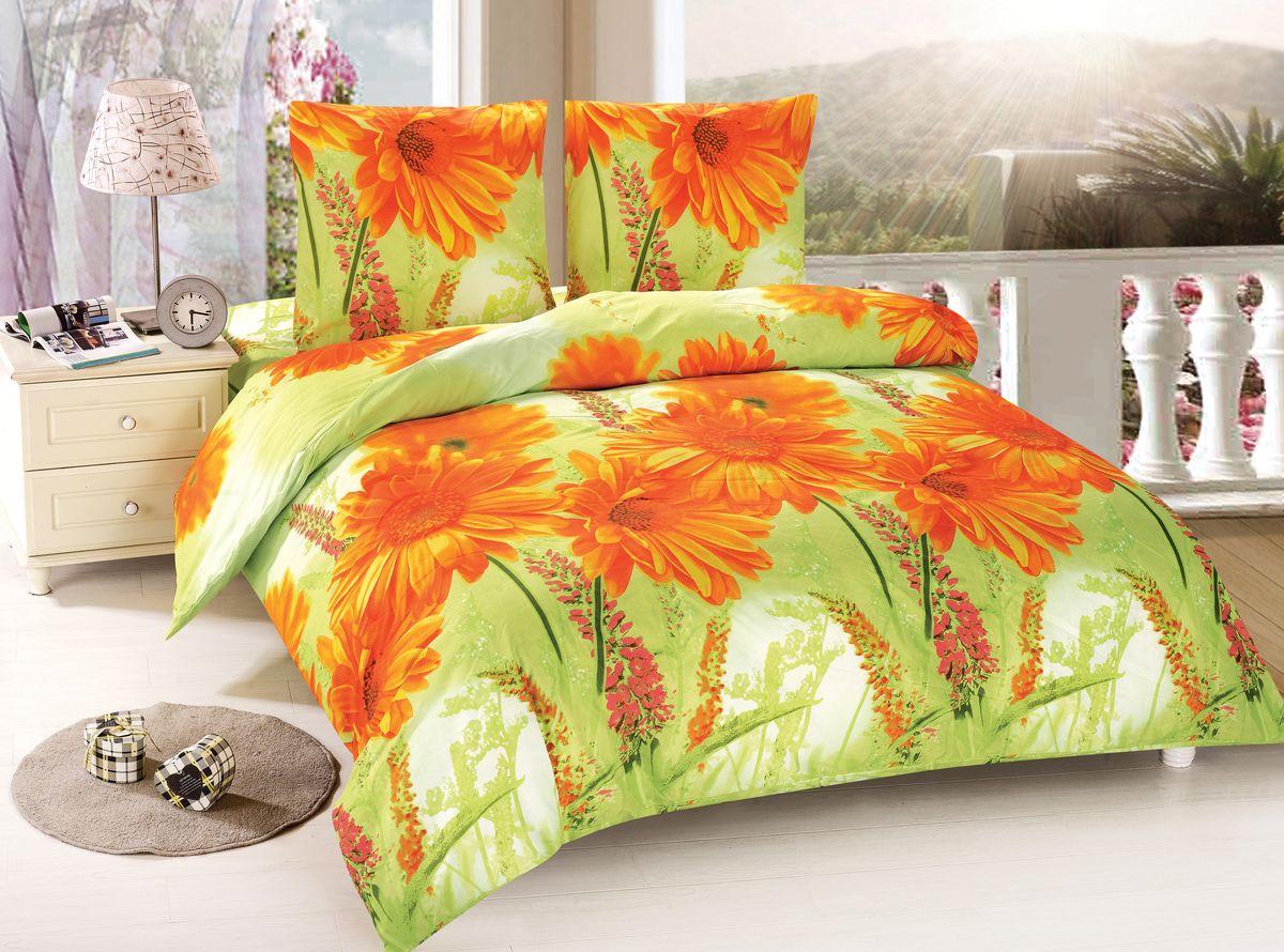 Комплект белья Amore Mio Anfisa, 2-спальный, наволочки 70x70, цвет: зеленый, оранжевый88471Amore Mio – Комфорт и Уют - Каждый день! Amore Mio предлагает оценить соотношение цены и качества коллекции. Разнообразие ярких и современных дизайнов прослужат не один год и всегда будут радовать Вас и Ваших близких сочностью красок и красивым рисунком. Мако-сатин - свежее решение, для уюта на даче или дома, созданное с любовью для вашего комфорта и отличного настроения! Нано-инновации позволили открыть новую ткань, полученную, в результате высокотехнологического процесса, сочетает в себе широкий спектр отличных потребительских характеристик и невысокой стоимости. Легкая, плотная, мягкая ткань, приятна и практична с эффектом «персиковой кожуры». Отлично стирается, гладится, быстро сохнет. Дисперсное крашение, великолепно передает качество рисунков.