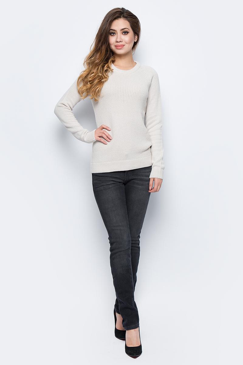 Джинсы женские Sela, цвет: черный джинс. PJ-135/038-7361. Размер 28-32 (44-32)PJ-135/038-7361Женские джинсы Sela, выполненные из высококачественного материала, станут отличным дополнением к вашему гардеробу. Модель стандартной посадки на талии застегивается на пуговицу и имеют ширинку на застежке-молнии. На поясе имеются шлевки для ремня. Модель представляет собой классическую пятикарманку: два втачных и один маленький накладной кармашек спереди и два накладных кармана сзади.