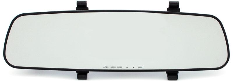 TrendVision TV-103 GPS видеорегистратор-зеркалоTVG103Автомобильный видеорегистратор TrendVision TV-103 GPS устанавливается с помощью резиновых держателей. Длинный кабель питания позволяет скрытно подвести питание. Многие пользователи отмечают, что само зеркало TV-103 GPS лучше штатного, особенно для отечественных автомобилей и бюджетных иномарок.Видеорегистратор TrendVision TV-103 GPS сделан в виде накладки на штатное зеркало заднего вида. Ультратонкий корпус, расположение кнопок снизу, делают установку видеорегистратора практически незаметной. При этом не требуется демонтаж штатного зеркала. На штатном зеркале TV-103 GPS крепится с помощью резиновых держателей.Именно резиновые держатели обеспечивают минимальную толщину регистратора и надежное крепление. Резиновые держатели имеют четыре полоски для крепления и можно подобрать длину для абсолютно любого зеркала. Регистратор устанавливается достаточно плотно, не вибрирует и не трясется.Зеркальная поверхность слегка тонирована, что защищает от слепящих фар сзади идущих автомобилей. Само зеркало несколько больше штатного, что обеспечивает хороший обзор. Видеокамера поворотная и обеспечивает правильную регулировку под любого водителя.Емкость аккумулятора: 300 мАчПроцессор: OmniVision OV2710Объектив: 5 линз, стекло, F=2,2ОЗУ: 1 ГБФормат записи: MOV