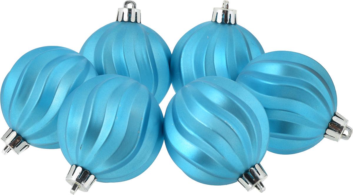 Украшение новогоднее подвесное Magic Time Шар. Волны, диаметр 6 см, 6 шт76017Новогоднее подвесное украшение Magic Time Шар. Волны изготовлено из полистирола. В наборе 6 однотонных шаров, декорированных объемным рельефом. Изделия дополнены удобной шляпкой с петлей для подвешивания.Елочная игрушка - символ Нового года. Она несет в себе волшебство и красоту праздника. Создайте в своем доме атмосферу веселья и радости, украшая всей семьей новогоднюю елку нарядными игрушками, которые будут из года в год накапливать теплоту воспоминаний.В комплекте: 6 шаров. Диаметр шара: 6 см.