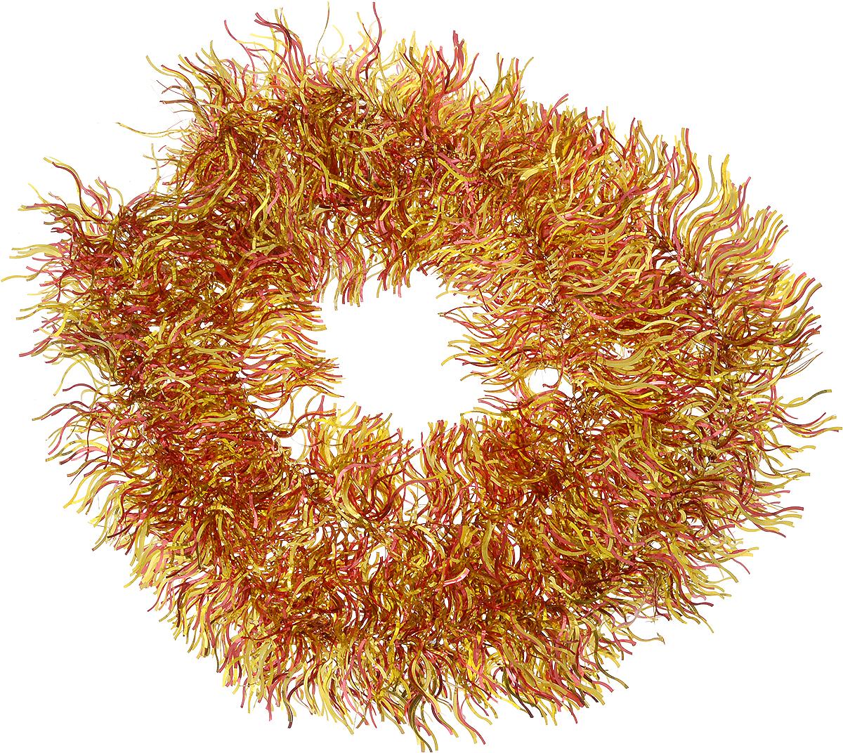 Мишура новогодняя Magic Time, диаметр 12 см, длина 200 см, цвет: красный, золотистый. 2691026910Новогодняя мишура Magic Time, выполненная из ПЭТ (Полиэтилентерефталат), поможет вам украсить свой дом к предстоящим праздникам. Изделие выполнено в виде скрученной косички. Новогодняя елка с таким украшением станет еще наряднее. Мишура армирована, то есть имеет проволоку внутри и способна сохранять форму. Новогодней мишурой можно украсить все, что угодно - елку, квартиру, дачу, офис - как внутри, так и снаружи. Можно сложить новогодние поздравления, буквы и цифры, мишурой можно украсить и дополнить гирлянды, можно выделить дверные колонны, оплести дверные проемы. Коллекция декоративных украшений из серии Magic Time принесет в ваш дом ни с чем несравнимое ощущение волшебства! Создайте в своем доме атмосферу тепла, веселья и радости, украшая его всей семьей.