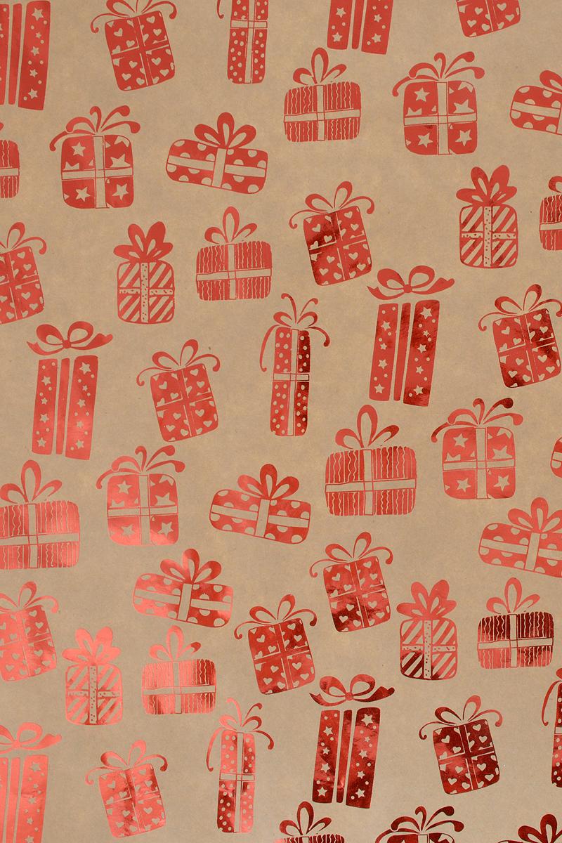 Бумага упаковочная Magic Time Красные подарки, немелованная, 100 х 70 см. 7669376693Упаковочная бумага Magic Time Красные подарки оформлена полноцветным декоративным рисунком. Подарок, преподнесенный в оригинальной упаковке, всегда будет самым эффектным и запоминающимся. Бумага с одной стороны мелованная.Окружите близких людей вниманием и заботой, вручив презент в нарядном, праздничном оформлении.Плотность бумаги: 60 г/м2.