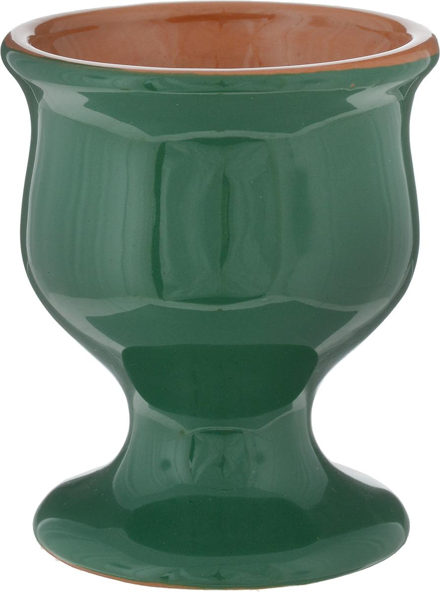 Бокал Борисовская керамика Радуга, цвет: зеленый, 100 млРАД14456807_зеленыйБокал Борисовская керамика Радуга изготовлен из высококачественное керамики и имеет глазурованное покрытие. Благодаря такому материалу напитки дольше сохраняют свою температуру. Изысканный дизайн придется по вкусу и ценителям классики и тем, кто предпочитает современный стиль.Можно использовать в духовке и микроволновой печи. Диаметр бокала (по верхнему краю): 7 см.Диаметр основания: 6 см.Высота стенок: 8,5 см.Объем: 100 мл.