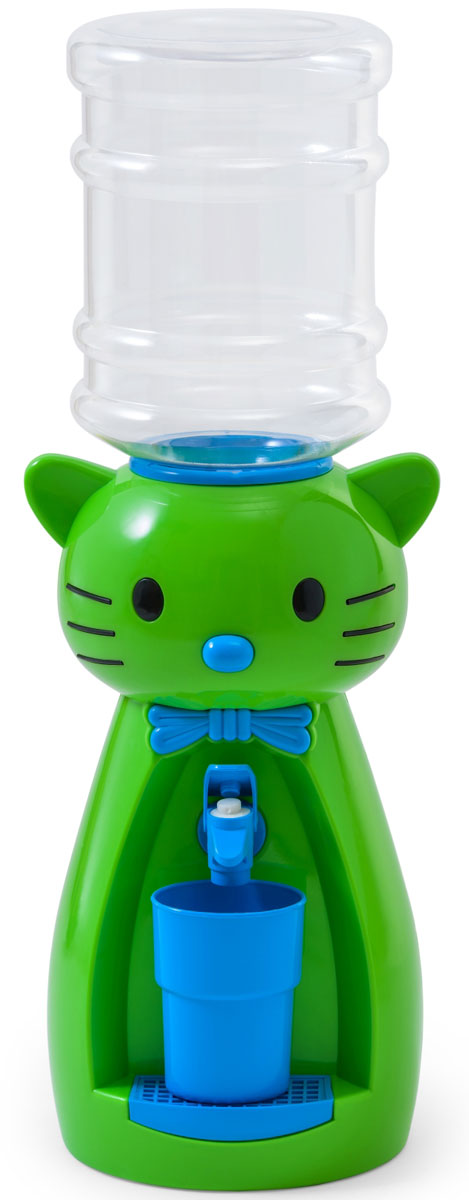 Vatten Kids Kitty, Lime кулер (со стаканчиком) - Кулеры для воды