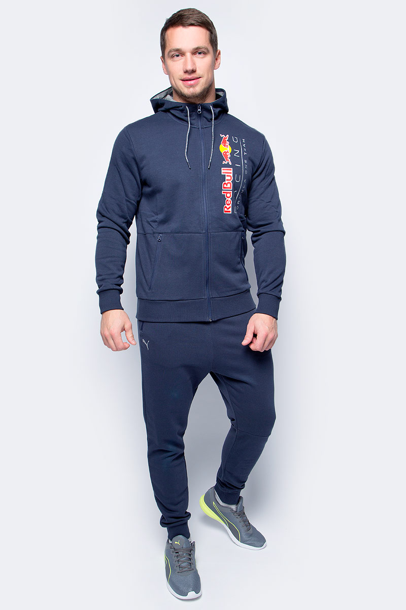 Толстовка мужская Puma RBR Hooded Sweat Jacket, цвет: темно-синий. 57343801. Размер XXL (52/54) for uaz patriot ccfl angel eyes rings kit non projector halo rings car eyes free shipping