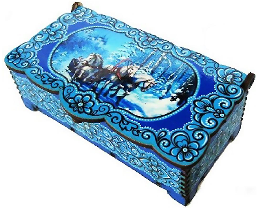 Кремлина В лесу на тройке шкатулка подарочная, 150 г кремл��на зимние забавы шкатулка подарочная 150 г