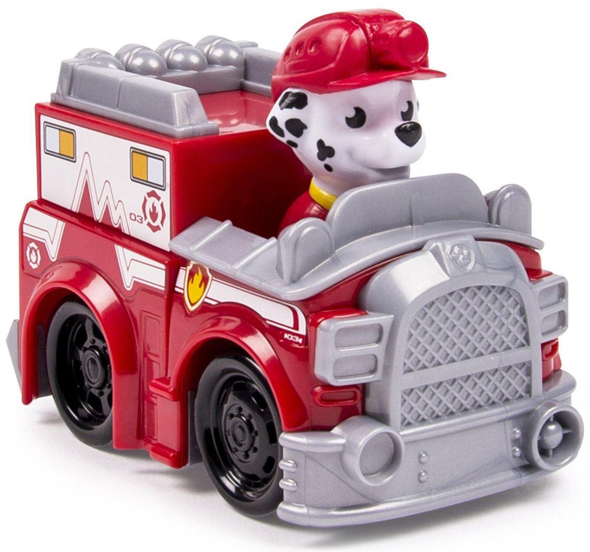 Paw Patrol Машинка спасателя Marshall пламенный мотор машинка инерционная volvo пожарная охрана
