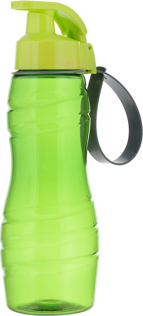 Бутылка для воды Herevin, цвет: зеленый, 500 мл. 161410-000161410-000_зеленыйСтильная бутылка для воды Herevin изготовлена из прочного пластика. Носик бутылки закрывается клапаном, благодаря чему содержимое не прольется и дольше останется свежим.Такая бутылка пригодится как на тренировках, так и в походах или просто на прогулке.Высота бутылки: 22,5 см.Диаметр горлышка: 4 см.