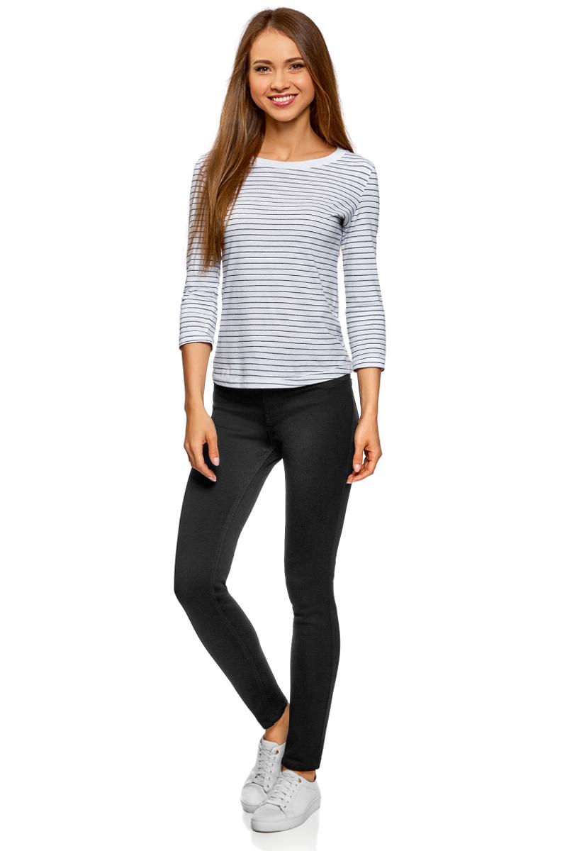 Джинсы женские oodji Ultra цвет черный джинс 12104072382062900W Размер 29-30 48-30