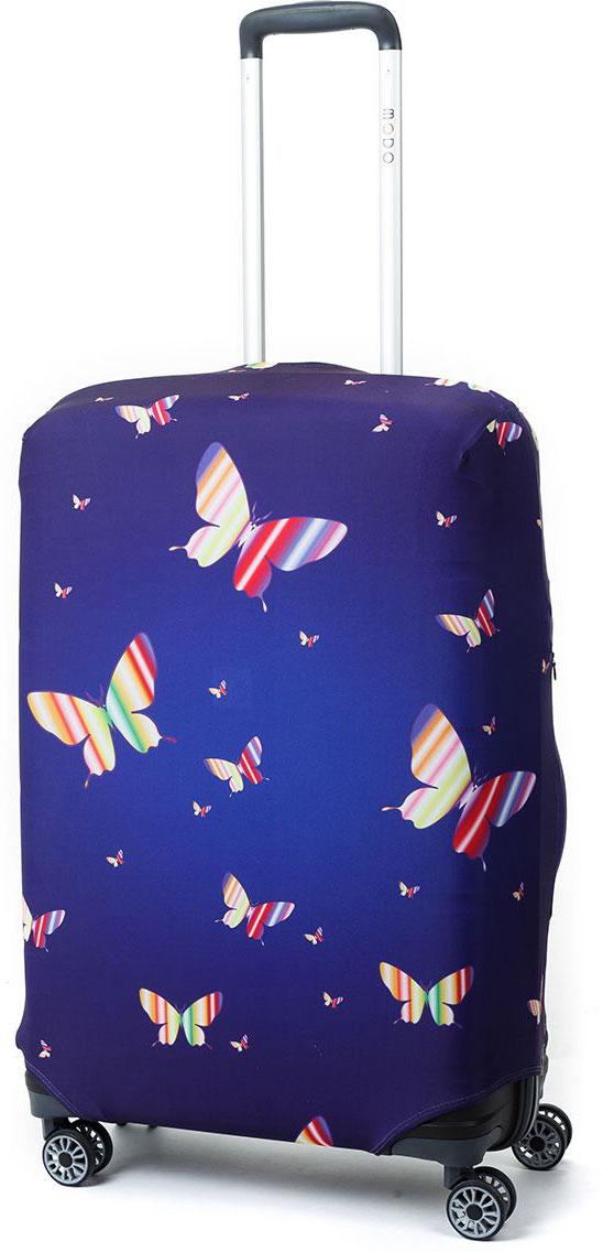 Чехол для чемодана Mettle Butterfly, размер M (высота чемодана: 65-75 см)LK-21000087Модный универсальный чехол для чемодана от компании METTLE, подходит для средних чемоданов размера М (высота: 65-75СМ, ширина: 40-46СМ, глубина: 25-32СМ). Эластичная ткань со специальной UF-водоотталкивающей пропиткой лучше защитит ваш чемодан от грязи и солнечных лучей. Картинка чехла надолго останется яркой и красочной. Две боковые потайные молнии, усиленные дополнительными швами, предохраняют боковые стороны и ручки чемодана от царапин и легких повреждений. Резинка с удобной соединяющей застёжкой надёжно фиксирует чехол на чемодане. Нижняя молния имеет автоматический замок бегунка. В швы багажного чехла дополнительно вшит эластичный жгут для лучшей усадки и фиксации на чемодан. Вся фурнитура изготовлена в фирменном дизайне METTLE.Дополнительно мы упаковали чехол для чемодана METTLE в функциональный мешочек из аналогичной ткани, который вы сможете использовать для хранения и переноски предметов небольшого размера. Забудьте об одноразовой багажной плёнке, чехол для чемодана METTLE