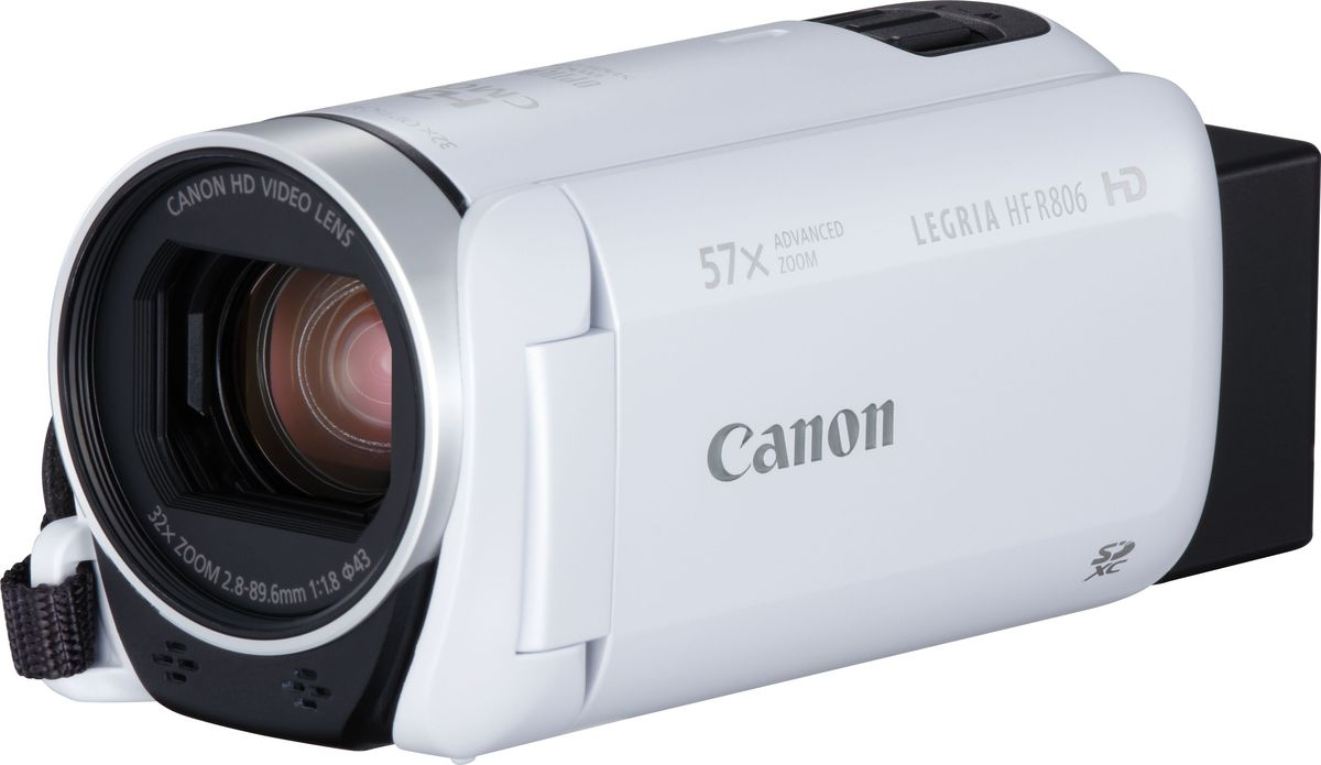 Canon LEGRIA HF R806, White цифровая видеокамера гарнитура nobby connect hf 001 white