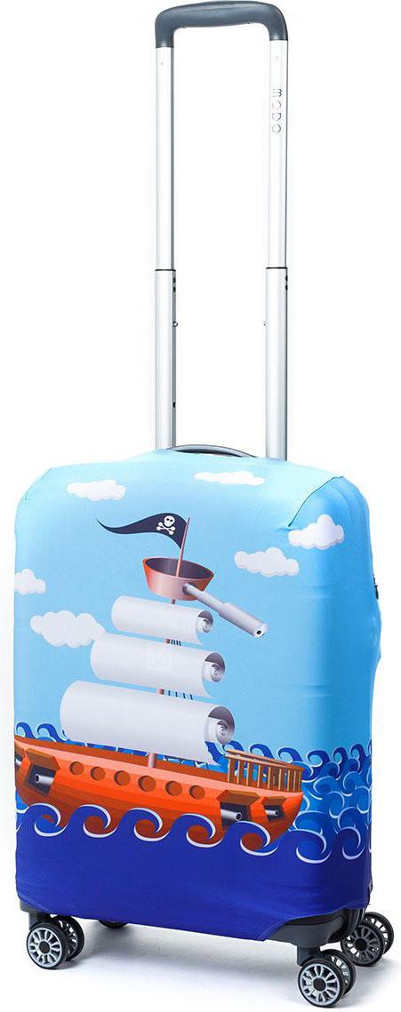 Чехол для чемодана Mettle River Boat, цвет: голубой. Размер S (высота чемодана: 50-55 см)LK-21000092Модный универсальный чехол для чемодана от компании METTLE, подходит для чемоданов ручной клади размера S (высота: 50-55 см, ширина: 35-40 см, глубина: 20-25 см). Эластичная ткань со специальной UF-водоотталкивающей пропиткой лучше защитит ваш чемодан от грязи и солнечных лучей. Картинка чехла надолго останется яркой и красочной. Две боковые потайные молнии, усиленные дополнительными швами, предохраняют боковые стороны и ручки чемодана от царапин и легких повреждений. Резинка с удобной соединяющей застёжкой надёжно фиксирует чехол на чемодане. Нижняя молния имеет автоматический замок бегунка. В швы багажного чехла дополнительно вшит эластичный жгут для лучшей усадки и фиксации на чемодан. Вся фурнитура изготовлена в фирменном дизайне METTLE. Дополнительно чехол для чемодана METTLE упакован в функциональный мешочек из аналогичной ткани, который вы сможете использовать для хранения и переноски предметов небольшого размера.