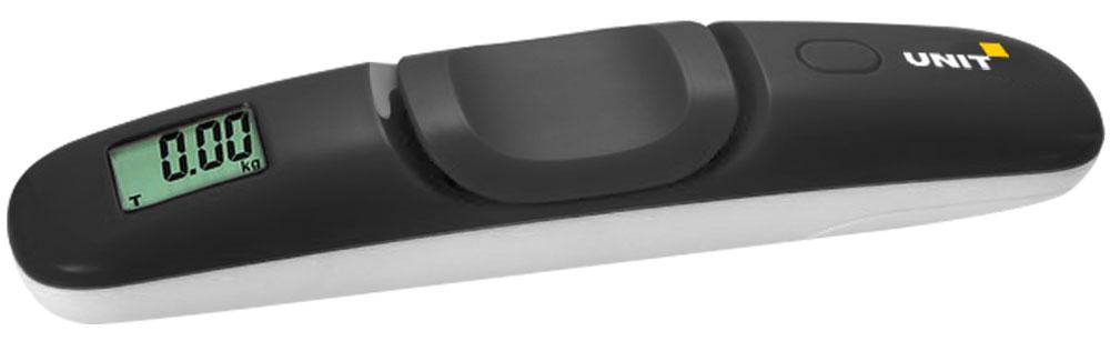 C помощью безмена Unit UBS-2111 вы всегда сможете оперативно измерять вес своего багажа. Прибор очень компактный, имеет прочный пластиковый корпус. Показания отображаются на ярком ЖК-дисплее.  Корпус из прочного пластика Индикатор разрядки батареи Индикатор перегрузки