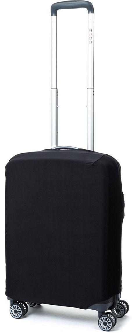 Чехол для чемодана Mettle Dark, цвет: черный. Размер S (высота чемодана: 50-55 см)