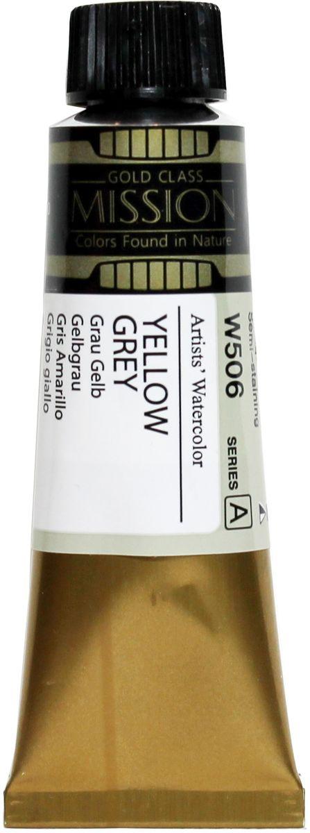 Mijello Акварель Mission Gold W506 Жетлый-сероватый 15 мл MWC-W506MWC-W506Серия акварельных красок Корейского производителя Mijello - Mission Gold состоит из 105 цветов. Эта серия акварели была создана компанией Mijello в сотрудничестве с экспертами в области акварельной живописи. Цвета акварели серии Mission Gold это смеси высококачественных пигментов тонкого помола с высококачественными компонентами и гуммиарабиком. Эти краски предлагаются в традиционной для Корейских производителей тубах по 15 мл. Используйте краски Mijello серии Mission Gold для акварельной живописи по мокрому, они идеально подойдут для подобной техники работы с акварелью. Акварель Mijello Mission Gold будет отличным выбором как начинающему художнику, так и профессионалу.