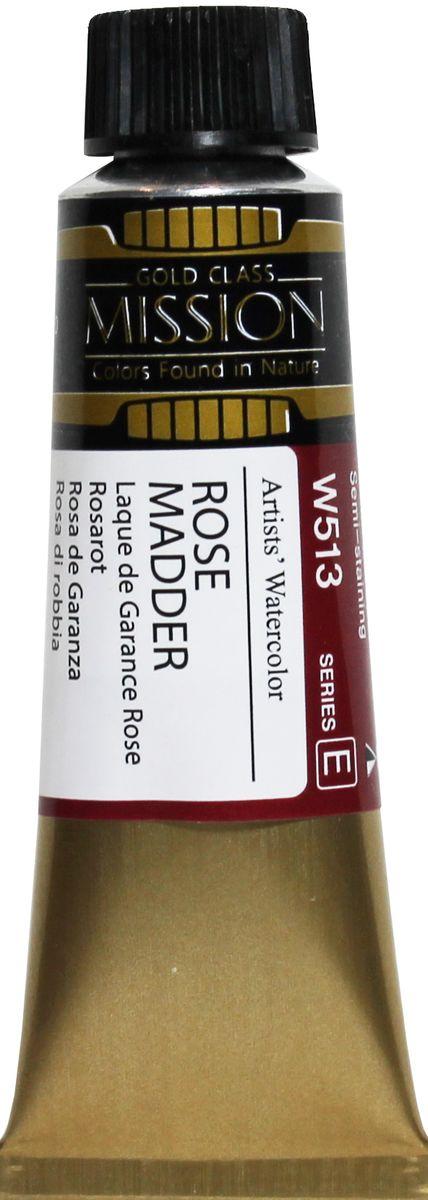 Mijello Акварель Mission Gold W513 Розовая марена 15 мл MWC-W513MWC-W513Серия акварельных красок Корейского производителя Mijello - Mission Gold состоит из 105 цветов. Эта серия акварели была создана компанией Mijello в сотрудничестве с экспертами в области акварельной живописи. Цвета акварели серии Mission Gold это смеси высококачественных пигментов тонкого помола с высококачественными компонентами и гуммиарабиком. Эти краски предлагаются в традиционной для Корейских производителей тубах по 15 мл. Используйте краски Mijello серии Mission Gold для акварельной живописи по мокрому, они идеально подойдут для подобной техники работы с акварелью. Акварель Mijello Mission Gold будет отличным выбором как начинающему художнику, так и профессионалу.