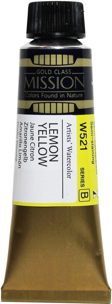 Mijello Акварель Mission Gold цвет W521 Желтый лимонный 15 мл MWC-W521MWC-W521Серия акварельных красок Корейского производителя Mijello - Mission Gold состоит из 105 цветов. Эта серия акварели была создана компанией Mijello в сотрудничестве с экспертами в области акварельной живописи. Цвета акварели серии Mission Gold это смеси высококачественных пигментов тонкого помола с высококачественными компонентами и гуммиарабиком. Эти краски предлагаются в традиционной для Корейских производителей тубах по 15 мл. Используйте краски Mijello серии Mission Gold для акварельной живописи по мокрому, они идеально подойдут для подобной техники работы с акварелью. Акварель Mijello Mission Gold будет отличным выбором как начинающему художнику, так и профессионалу.