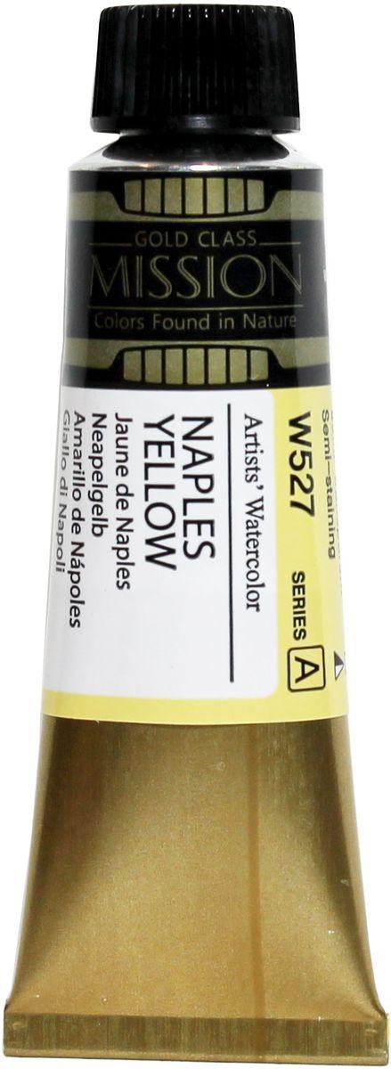 Mijello Акварель Mission Gold цвет W527 Неаполитанский желтый 15 мл MWC-W527MWC-W527Серия акварельных красок Корейского производителя Mijello - Mission Gold состоит из 105 цветов. Эта серия акварели была создана компанией Mijello в сотрудничестве с экспертами в области акварельной живописи. Цвета акварели серии Mission Gold это смеси высококачественных пигментов тонкого помола с высококачественными компонентами и гуммиарабиком. Эти краски предлагаются в традиционной для Корейских производителей тубах по 15 мл. Используйте краски Mijello серии Mission Gold для акварельной живописи по мокрому, они идеально подойдут для подобной техники работы с акварелью. Акварель Mijello Mission Gold будет отличным выбором как начинающему художнику, так и профессионалу.