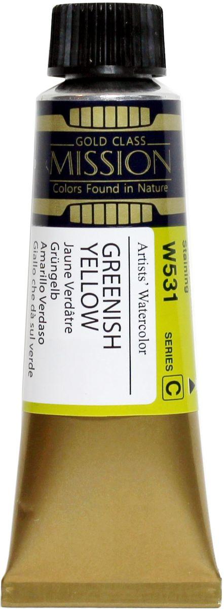 Mijello Акварель Mission Gold W531 Зеленовато-желтый 15 мл MWC-W531MWC-W531Серия акварельных красок Корейского производителя Mijello - Mission Gold состоит из 105 цветов. Эта серия акварели была создана компанией Mijello в сотрудничестве с экспертами в области акварельной живописи. Цвета акварели серии Mission Gold это смеси высококачественных пигментов тонкого помола с высококачественными компонентами и гуммиарабиком. Эти краски предлагаются в традиционной для Корейских производителей тубах по 15 мл. Используйте краски Mijello серии Mission Gold для акварельной живописи по мокрому, они идеально подойдут для подобной техники работы с акварелью. Акварель Mijello Mission Gold будет отличным выбором как начинающему художнику, так и профессионалу.