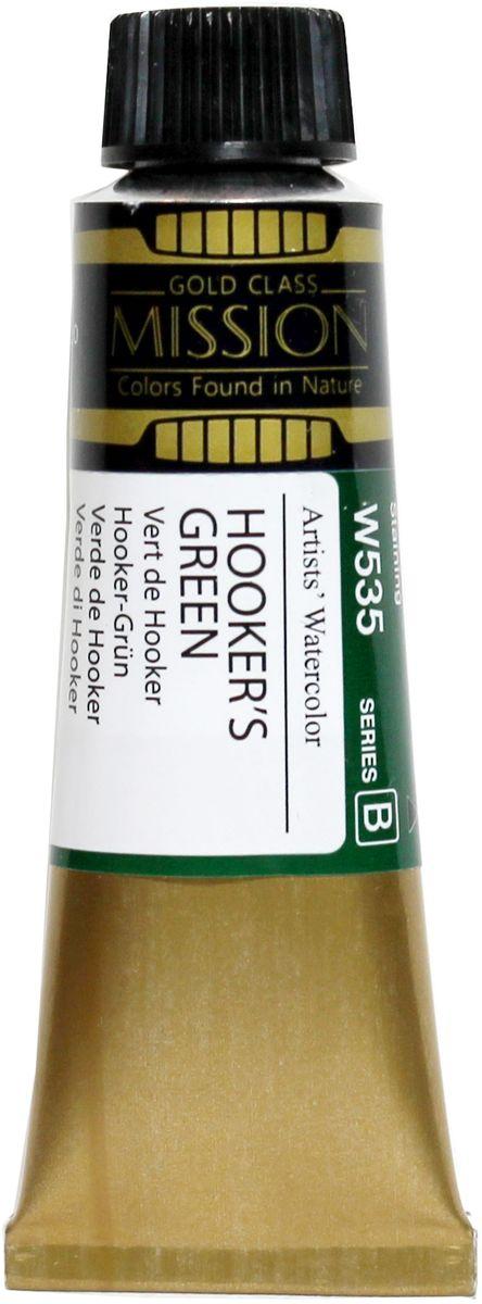 Mijello Акварель Mission Gold цвет W535 Зеленый хукер 15 мл MWC-W535MWC-W535Серия акварельных красок Корейского производителя Mijello - Mission Gold состоит из 105 цветов. Эта серия акварели была создана компанией Mijello в сотрудничестве с экспертами в области акварельной живописи. Цвета акварели серии Mission Gold это смеси высококачественных пигментов тонкого помола с высококачественными компонентами и гуммиарабиком. Эти краски предлагаются в традиционной для Корейских производителей тубах по 15мл. Используйте краски Mijello серии Mission Gold для акварельной живописи по мокрому, они идеально подойдут для подобной техники работы с акварелью. Акварель Mijello Mission Gold будет отличным выбором как начинающему художнику, так и профессионалу.