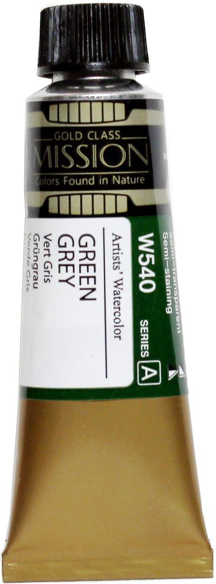 Mijello Акварель Mission Gold цвет W540 Серо-зеленый 15 мл MWC-W54020013700Серия акварельных красок Корейского производителя Mijello - Mission Gold состоит из 105 цветов. Эта серия акварели была создана компанией Mijello в сотрудничестве с экспертами в области акварельной живописи. Цвета акварели серии Mission Gold это смеси высококачественных пигментов тонкого помола с высококачественными компонентами и гуммиарабиком. Эти краски предлагаются в традиционной для Корейских производителей тубах по 15 мл. Используйте краски Mijello серии Mission Gold для акварельной живописи по мокрому, они идеально подойдут для подобной техники работы с акварелью. Акварель Mijello Mission Gold будет отличным выбором как начинающему художнику, так и профессионалу.