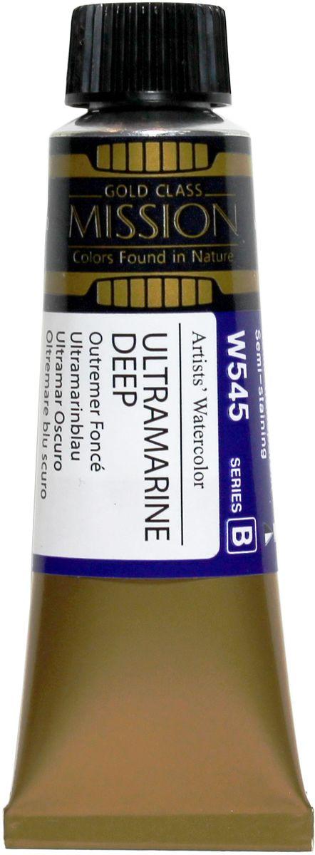 Mijello Акварель Mission Gold W545 Ультрамарин темный 15 мл MWC-W545MWC-W545Серия акварельных красок Корейского производителя Mijello - Mission Gold состоит из 105 цветов. Эта серия акварели была создана компанией Mijello в сотрудничестве с экспертами в области акварельной живописи. Цвета акварели серии Mission Gold это смеси высококачественных пигментов тонкого помола с высококачественными компонентами и гуммиарабиком. Эти краски предлагаются в традиционной для Корейских производителей тубах по 15мл. Используйте краски Mijello серии Mission Gold для акварельной живописи по мокрому, они идеально подойдут для подобной техники работы с акварелью. Акварель Mijello Mission Gold будет отличным выбором как начинающему художнику, так и профессионалу.
