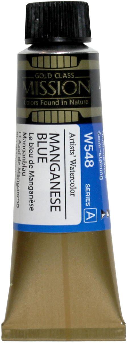 Mijello Акварель Mission Gold цвет W548 Марганцевый синий 15 мл MWC-W548MWC-W548Серия акварельных красок Корейского производителя Mijello - Mission Gold состоит из 105 цветов. Эта серия акварели была создана компанией Mijello в сотрудничестве с экспертами в области акварельной живописи. Цвета акварели серии Mission Gold это смеси высококачественных пигментов тонкого помола с высококачественными компонентами и гуммиарабиком. Эти краски предлагаются в традиционной для Корейских производителей тубах по 15мл. Используйте краски Mijello серии Mission Gold для акварельной живописи по мокрому, они идеально подойдут для подобной техники работы с акварелью. Акварель Mijello Mission Gold будет отличным выбором как начинающему художнику, так и профессионалу.