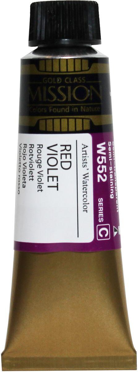 Mijello Акварель Mission Gold цвет W552 Фиолетовый чистый яркий 15 мл MWC-W552MWC-W552Серия акварельных красок Корейского производителя Mijello - Mission Gold состоит из 105 цветов. Эта серия акварели была создана компанией Mijello в сотрудничестве с экспертами в области акварельной живописи. Цвета акварели серии Mission Gold это смеси высококачественных пигментов тонкого помола с высококачественными компонентами и гуммиарабиком. Эти краски предлагаются в традиционной для Корейских производителей тубах по 15мл. Используйте краски Mijello серии Mission Gold для акварельной живописи по мокрому, они идеально подойдут для подобной техники работы с акварелью. Акварель Mijello Mission Gold будет отличным выбором как начинающему художнику, так и профессионалу.