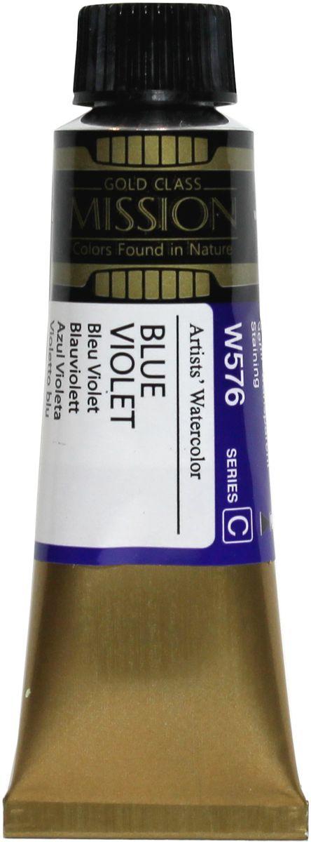 Mijello Акварель Mission Gold W576 Сине-фиолетовый 15 мл MWC-W576MWC-W576Серия акварельных красок Корейского производителя Mijello - Mission Gold состоит из 105 цветов. Эта серия акварели была создана компанией Mijello в сотрудничестве с экспертами в области акварельной живописи. Цвета акварели серии Mission Gold это смеси высококачественных пигментов тонкого помола с высококачественными компонентами и гуммиарабиком. Эти краски предлагаются в традиционной для Корейских производителей тубах по 15 мл. Используйте краски Mijello серии Mission Gold для акварельной живописи по мокрому, они идеально подойдут для подобной техники работы с акварелью. Акварель Mijello Mission Gold будет отличным выбором как начинающему художнику, так и профессионалу.