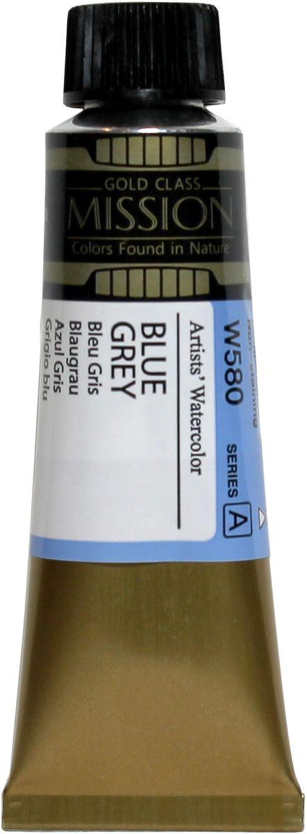 Mijello Акварель Mission Gold цвет W580 Сине-серый 15 мл MWC-W580