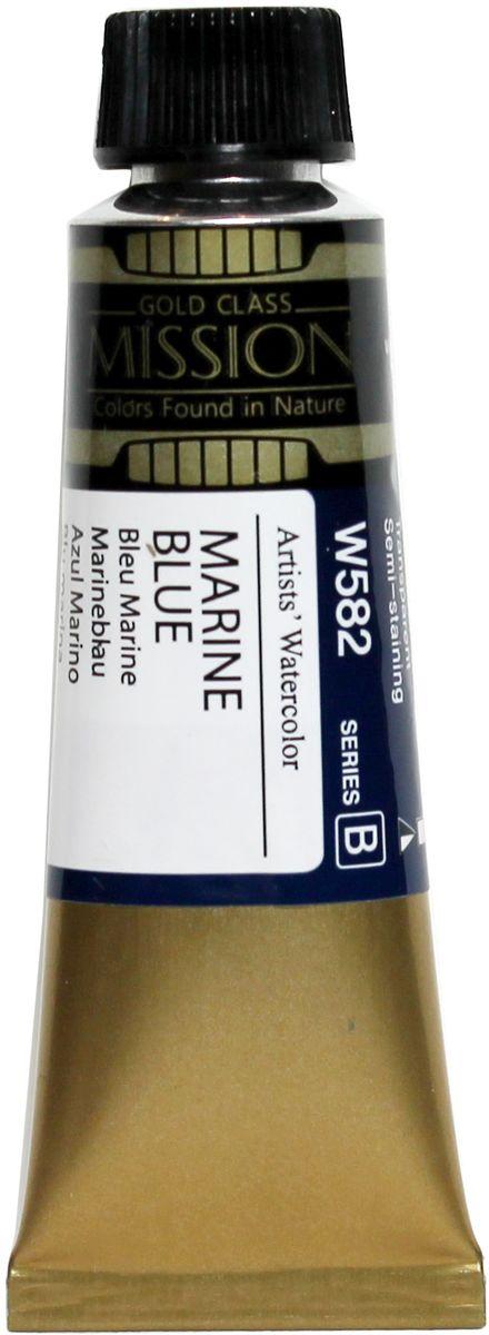 Mijello Акварель Mission Gold цвет W582 Морской светлый 15 мл MWC-W582MWC-W582Серия акварельных красок Корейского производителя Mijello - Mission Gold состоит из 105 цветов. Эта серия акварели была создана компанией Mijello в сотрудничестве с экспертами в области акварельной живописи. Цвета акварели серии Mission Gold это смеси высококачественных пигментов тонкого помола с высококачественными компонентами и гуммиарабиком. Эти краски предлагаются в традиционной для Корейских производителей тубах по 15 мл. Используйте краски Mijello серии Mission Gold для акварельной живописи по мокрому, они идеально подойдут для подобной техники работы с акварелью. Акварель Mijello Mission Gold будет отличным выбором как начинающему художнику, так и профессионалу.