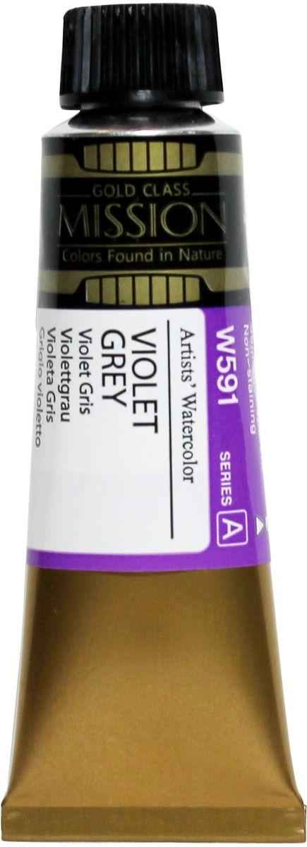 Mijello Акварель Mission Gold W591 Фиолетово-серый 15 мл MWC-W591MWC-W591Серия акварельных красок Корейского производителя Mijello - Mission Gold состоит из 105 цветов. Эта серия акварели была создана компанией Mijello в сотрудничестве с экспертами в области акварельной живописи. Цвета акварели серии Mission Gold это смеси высококачественных пигментов тонкого помола с высококачественными компонентами и гуммиарабиком. Эти краски предлагаются в традиционной для Корейских производителей тубах по 15мл. Используйте краски Mijello серии Mission Gold для акварельной живописи по мокрому, они идеально подойдут для подобной техники работы с акварелью. Акварель Mijello Mission Gold будет отличным выбором как начинающему художнику, так и профессионалу.