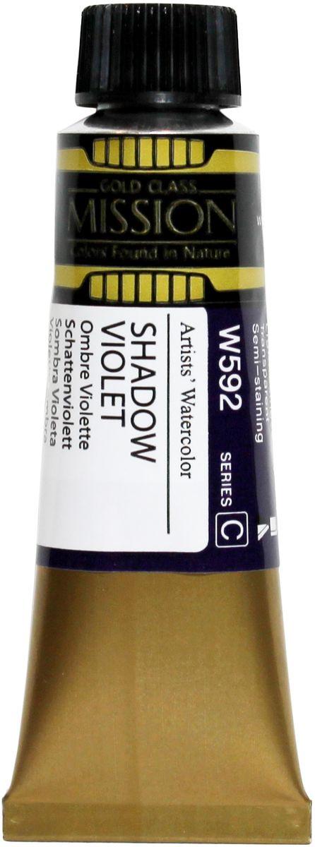 Mijello Акварель Mission Gold W592 Фиолетовая тень 15 мл MWC-W592MWC-W592Серия акварельных красок Корейского производителя Mijello - Mission Gold состоит из 105 цветов. Эта серия акварели была создана компанией Mijello в сотрудничестве с экспертами в области акварельной живописи. Цвета акварели серии Mission Gold это смеси высококачественных пигментов тонкого помола с высококачественными компонентами и гуммиарабиком. Эти краски предлагаются в традиционной для Корейских производителей тубах по 15мл. Используйте краски Mijello серии Mission Gold для акварельной живописи по мокрому, они идеально подойдут для подобной техники работы с акварелью. Акварель Mijello Mission Gold будет отличным выбором как начинающему художнику, так и профессионалу.
