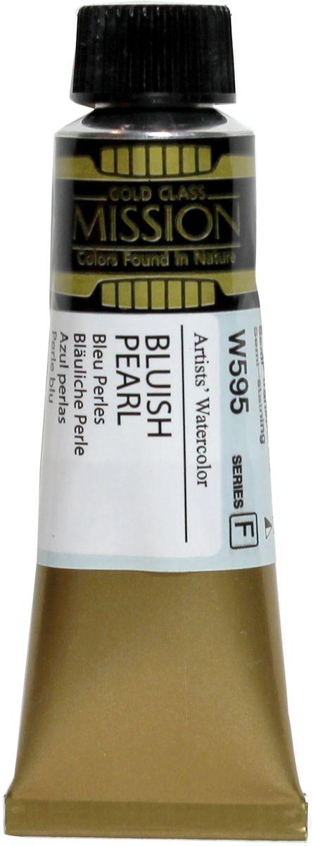 Mijello Акварель Mission Gold W595 Голубоватая жемчужина 15 мл MWC-W595MWC-W595Серия акварельных красок Корейского производителя Mijello - Mission Gold состоит из 105 цветов. Эта серия акварели была создана компанией Mijello в сотрудничестве с экспертами в области акварельной живописи. Цвета акварели серии Mission Gold это смеси высококачественных пигментов тонкого помола с высококачественными компонентами и гуммиарабиком. Эти краски предлагаются в традиционной для Корейских производителей тубах по 15мл. Используйте краски Mijello серии Mission Gold для акварельной живописи по мокрому, они идеально подойдут для подобной техники работы с акварелью. Акварель Mijello Mission Gold будет отличным выбором как начинающему художнику, так и профессионалу.