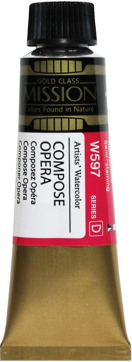 Mijello Акварель Mission Gold W597 Опера состовная 15 мл MWC-W597MWC-W597Серия акварельных красок Корейского производителя Mijello - Mission Gold состоит из 105 цветов. Эта серия акварели была создана компанией Mijello в сотрудничестве с экспертами в области акварельной живописи. Цвета акварели серии Mission Gold это смеси высококачественных пигментов тонкого помола с высококачественными компонентами и гуммиарабиком. Эти краски предлагаются в традиционной для Корейских производителей тубах по 15мл. Используйте краски Mijello серии Mission Gold для акварельной живописи по мокрому, они идеально подойдут для подобной техники работы с акварелью. Акварель Mijello Mission Gold будет отличным выбором как начинающему художнику, так и профессионалу.