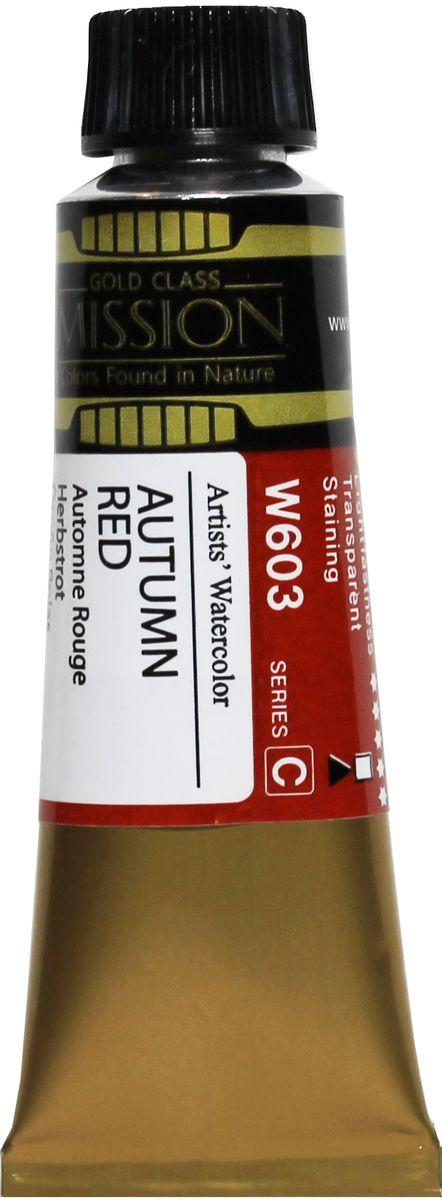Mijello Акварель Mission Gold цвет W603 красная осень 15 мл MWC-W603MWC-W603Серия акварельных красок Корейского производителя Mijello - Mission Gold состоит из 105 цветов. Эта серия акварели была создана компанией Mijello в сотрудничестве с экспертами в области акварельной живописи. Цвета акварели серии Mission Gold это смеси высококачественных пигментов тонкого помола с высококачественными компонентами и гуммиарабиком. Эти краски предлагаются в традиционной для Корейских производителей тубах по 15мл. Используйте краски Mijello серии Mission Gold для акварельной живописи по мокрому, они идеально подойдут для подобной техники работы с акварелью. Акварель Mijello Mission Gold будет отличным выбором как начинающему художнику, так и профессионалу.