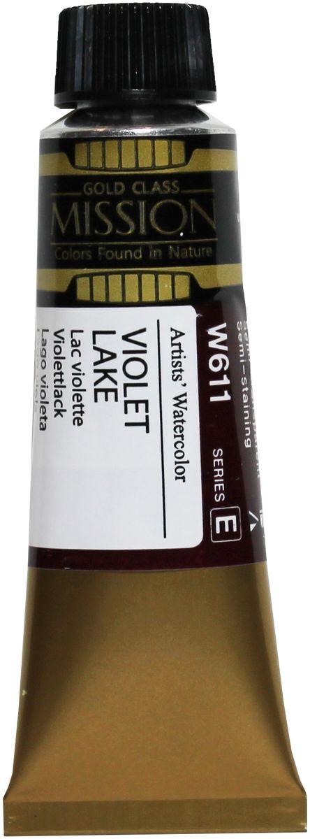 Mijello Акварель Mission Gold W611 Лак фиолетовый 15 мл MWC-W611MWC-W611Серия акварельных красок Корейского производителя Mijello - Mission Gold состоит из 105 цветов. Эта серия акварели была создана компанией Mijello в сотрудничестве с экспертами в области акварельной живописи. Цвета акварели серии Mission Gold это смеси высококачественных пигментов тонкого помола с высококачественными компонентами и гуммиарабиком. Эти краски предлагаются в традиционной для Корейских производителей тубах по 15мл. Используйте краски Mijello серии Mission Gold для акварельной живописи по мокрому, они идеально подойдут для подобной техники работы с акварелью. Акварель Mijello Mission Gold будет отличным выбором как начинающему художнику, так и профессионалу.