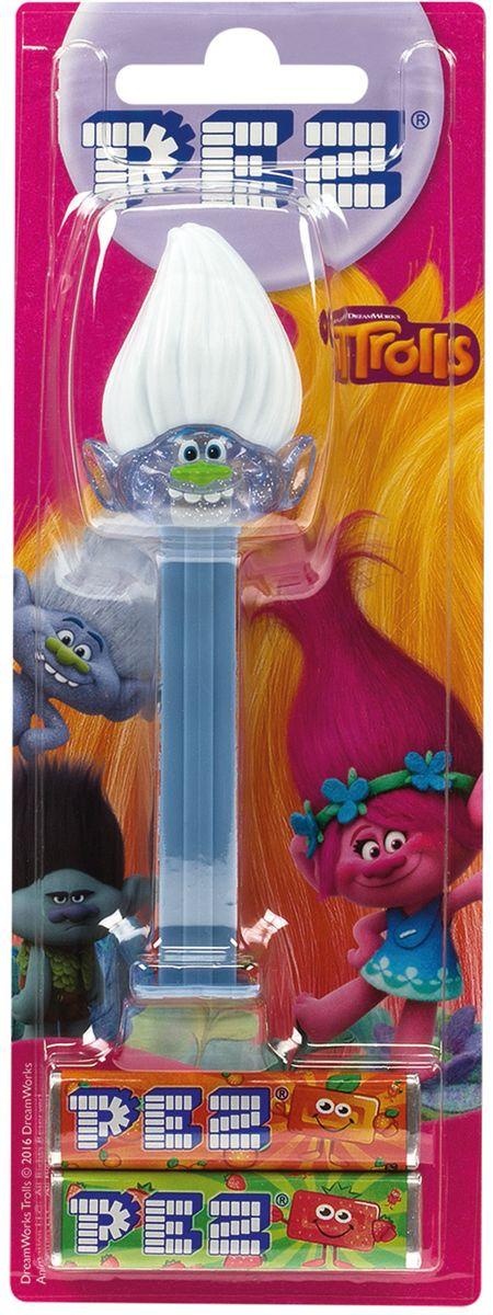 PEZ Игрушка с конфетами 1+2 тролли, 17 г (в ассортименте) rikang детские игрушки для купания rk 3681 2 шт случайнный тип